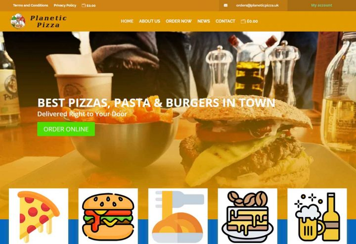 COVID-19 Response: Food Ordering Websites